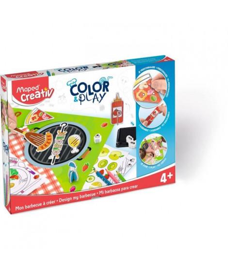 MAPED CREATIV - Color&Play - Mon Barbecue a Créer