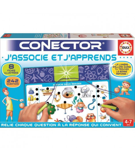 EDUCA Connector J'associe et J'apprends