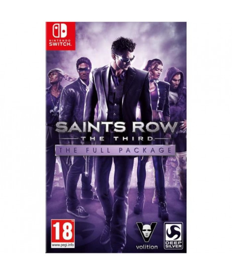 Saints Row The Third Jeu Switch