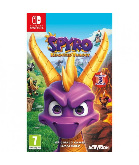 Spyro Reignited Trilogy Jeu Switch