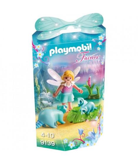 PLAYMOBIL 9139 - Fairies - Fée avec Ratons Laveurs
