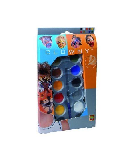 SES CREATIVE AQUA Palette de maquillage  10 couleurs