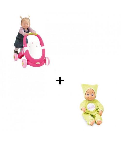 Pack Minikiss - Babywalker + Poupon Dodo