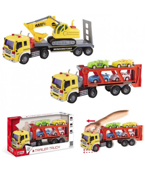 MONDO Camion 40 cm - Assortiement : 2 Modeles