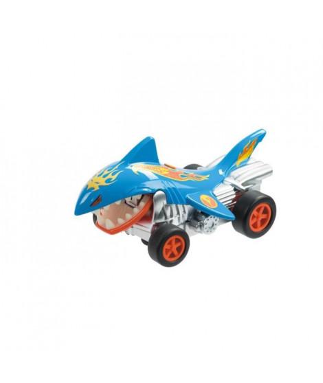 MONDO - Hot Wheels - shark attack - voiture radiocommandée - sons et mouvement - requin - 1/24eme  - Garçon -A partir de 3 ans