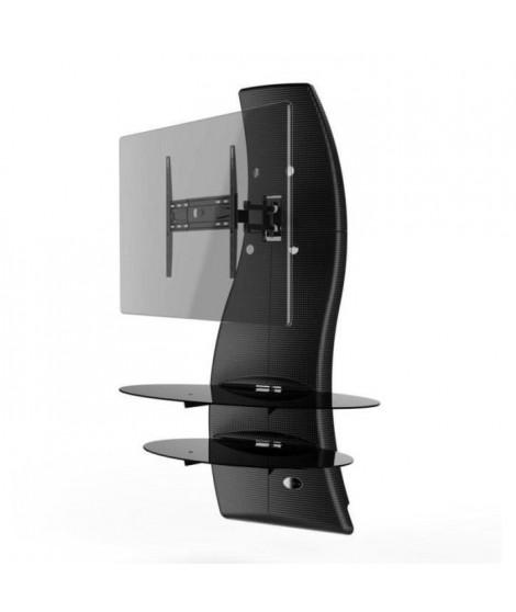GHOST DESIGN 2000 ROTATION Meuble TV Noir Carbone