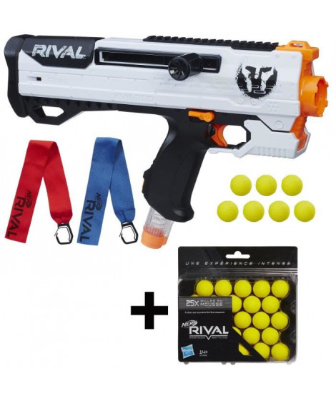 NERF RIVAL - Helios XVIII-700 + 7 Billes + 25 Recharges Offertes !