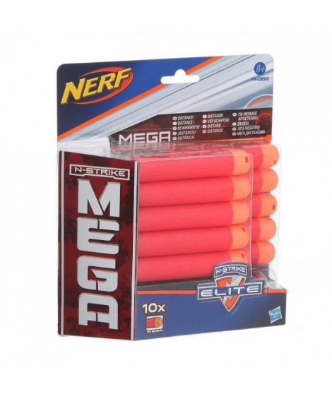 NERF MEGA - Recharges x10 [FLÉCHETTES OFFICIELLES]