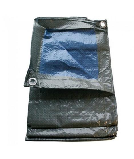 TECHIT Bâche légere de protection 68g/m² - 6 x 10m