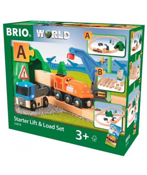 BRIO World  - 33878 - Circuit De Demarrage Transport De Fret - Jouet en bois