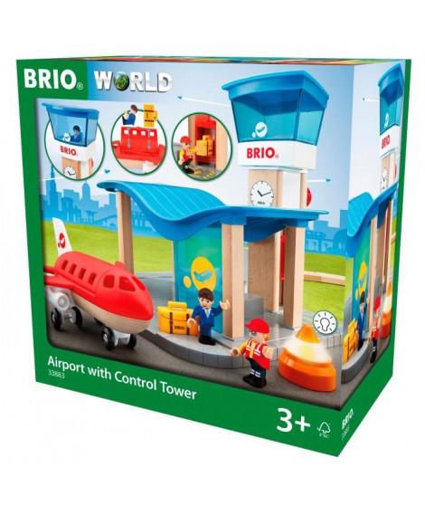 BRIO World  - 33883 - Terminal Aeroport Et Tour De Contrôle