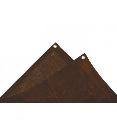 TECHIT Bâche lourde spéciale bois 140g/m² - 2 x 8m