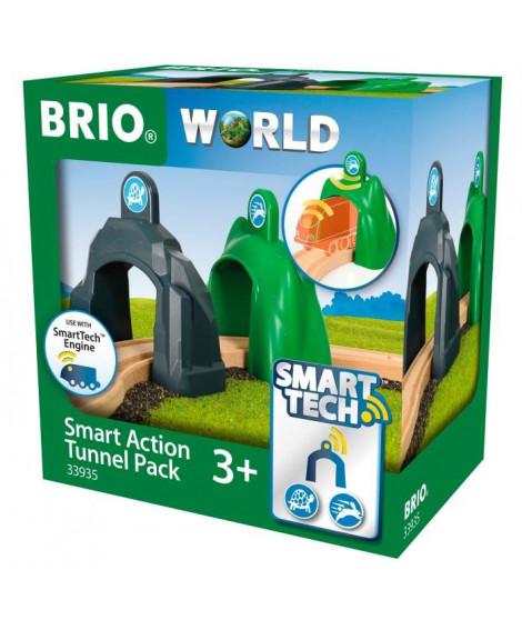 BRIO World - Smart Tech - 33935 - Lot De 2 Portiques Intelligents - Jouet en bois