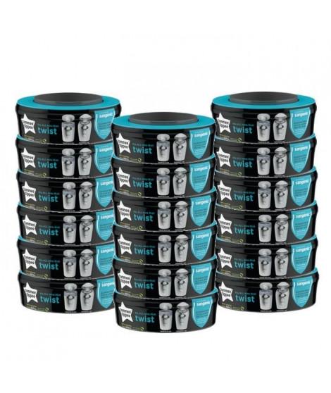 Tommee Tippee - Recharges poubelles Twist & Click x18 - Compatibles avec Bac TEC