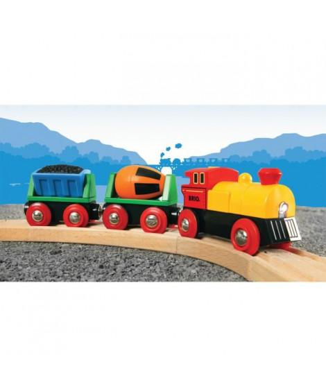 BRIO World  - 33319 - Train De Marchandises Avec Lumiere