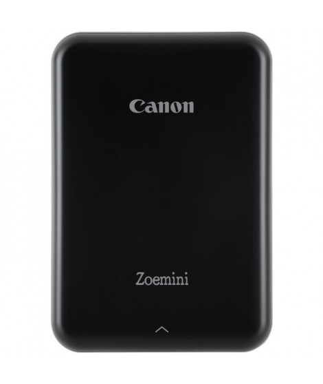 CANON Zoemini Imprimante photo de poche - 10 Films inclus - Photo : 5 x 7,6 cm - Noir