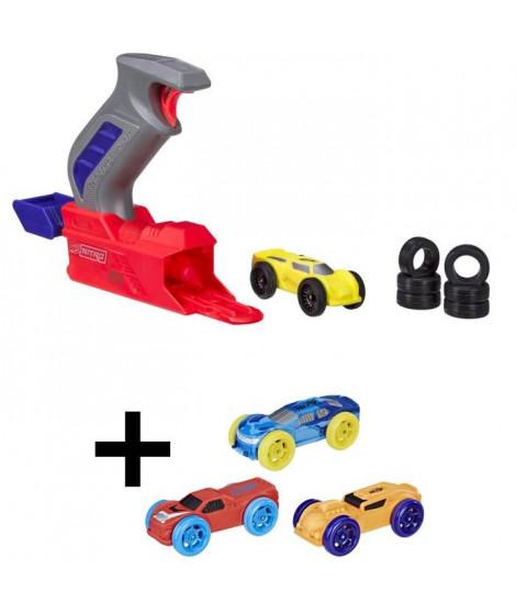 NERF NITRO - Starter Pack + Recharges : orange, rouge, bleue