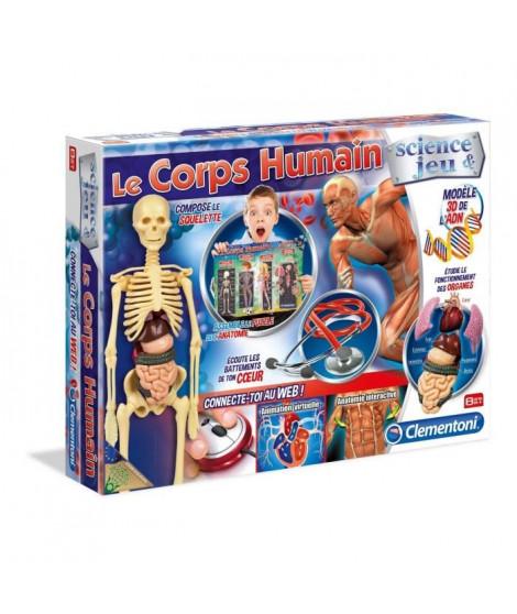 CLEMENTONI Science & Jeu - Le Corps Humain - Jeu scientifique