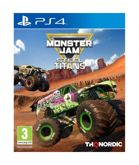 Monster Jam - Steel Titans Jeu PS4