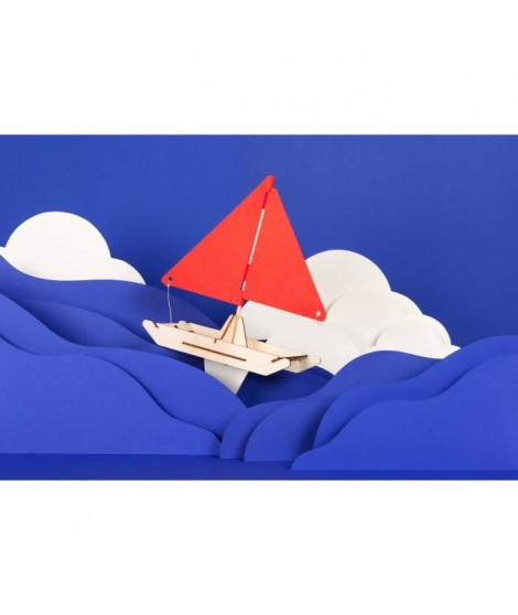 KOAKOA Jeu éducatif STEM Anime Ton Catamaran