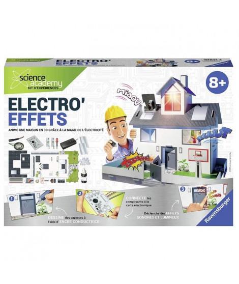 RAVENSBURGER Electro'Effets - Jeu Educatif - Science X