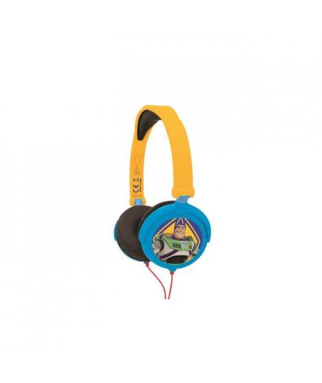LEXIBOOK - TOY STORY 4 - Casque Audio Stéréo, Puissance sonore Limitée, Pliable et Ajustable