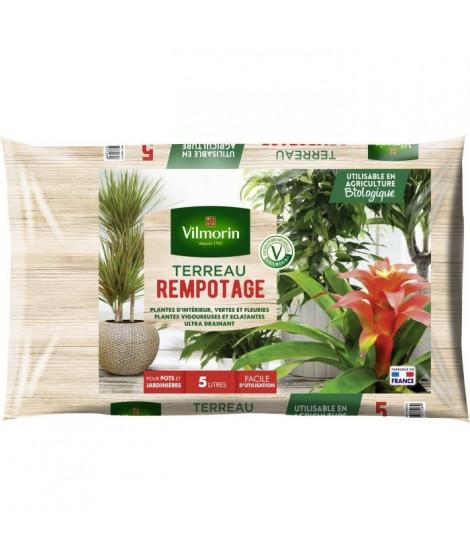 VILMORIN Terreau rempotage plante d'intérieur 5 L
