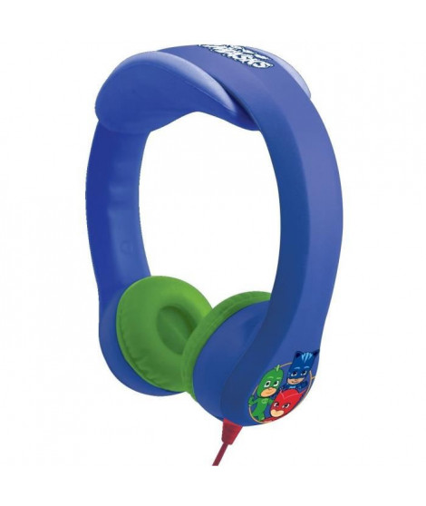 LEXIBOOK - Casque Flexible PJ Masque