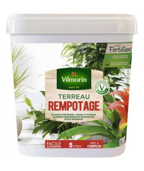 VILMORIN Seau Terreau rempotage plante d'intérieur 5 L
