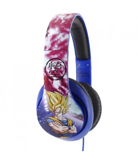 DRAGON BALL Z Casque audio Goku et Vegeta Space - Bleu