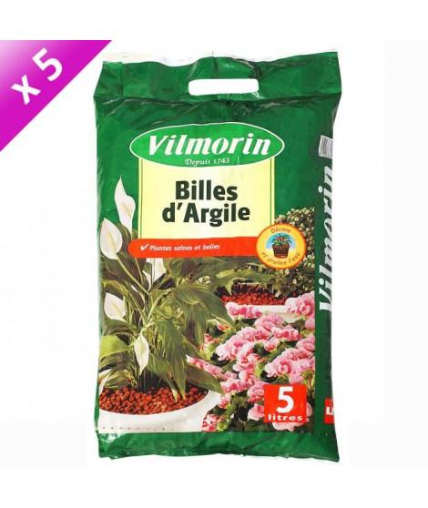 VILMORIN Lot de 5 sacs de Billes d'Argile - 5L
