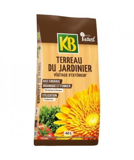 KB Terreau du Jardinier végétaux d'extérieur - 40 L