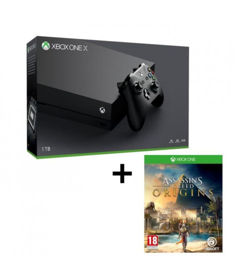 Pack Xbox One X 1 To + Assassin's Creed Origins