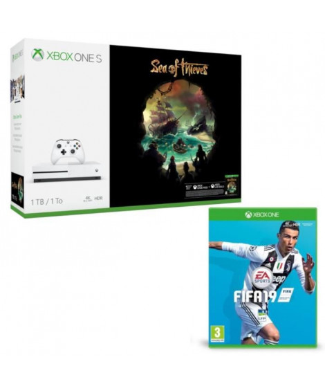 Xbox One S 1 To Sea of Thieves + Fifa 19