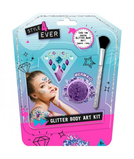 CANAL TOYS - STYLE 4 EVER - Mini Kit Body Art - Applique tes Bijoux & tes Paillettes !