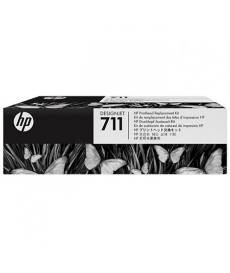 HP - 1 Tete d'impression 711 - Multicolor