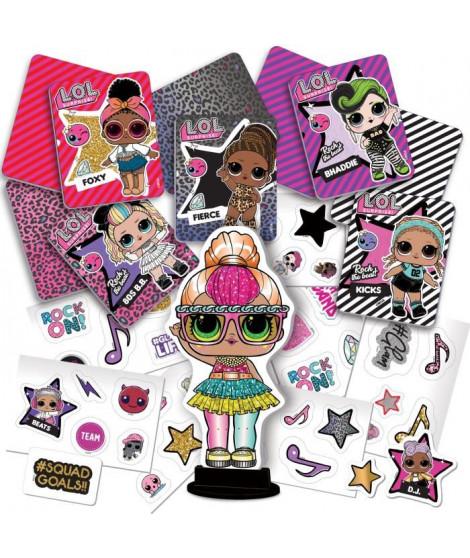 L.O.L. Surprise - Crée tes Stickers et tes cartes