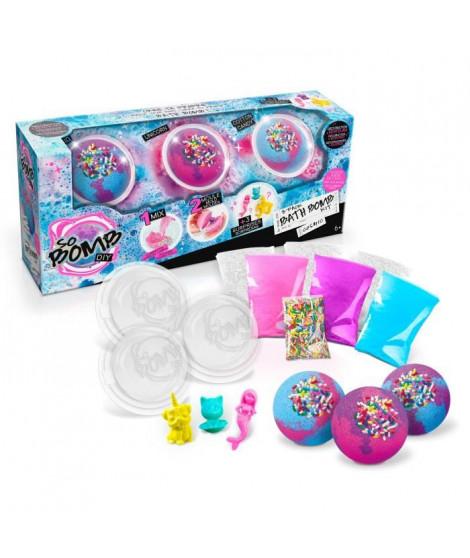 CANAL TOYS - SO BOMB DIY - Mega Kit - Fabrique tes bombes de bain effervescentes - Création de Savon