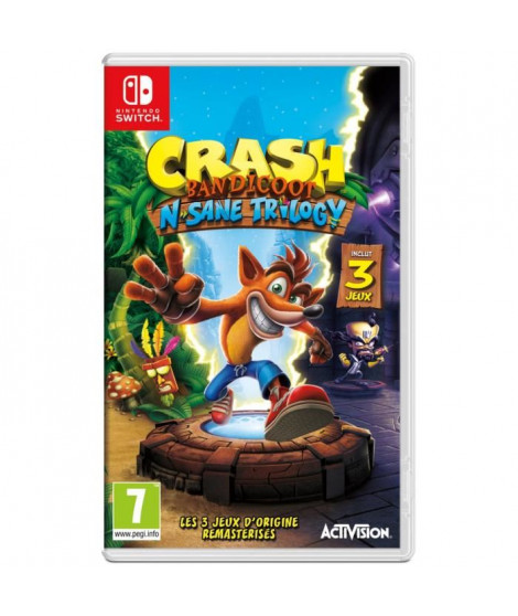 Crash Bandicoot N. Sane Trilogy Jeu Switch