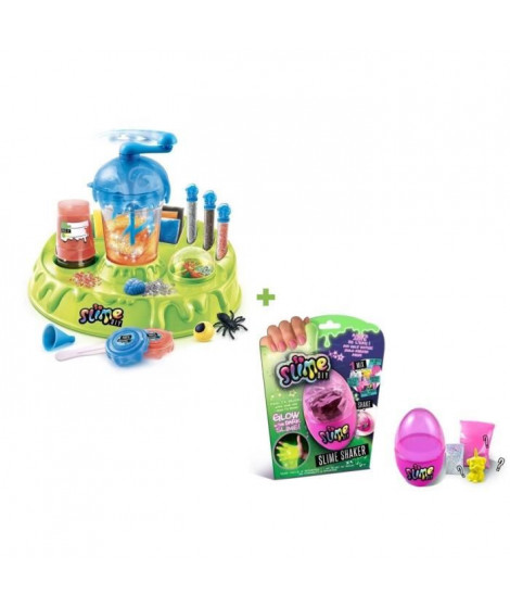 CANAL TOYS - SO SLIME CREEPY FACTORY + 1 SLIME SHAKER GLOW