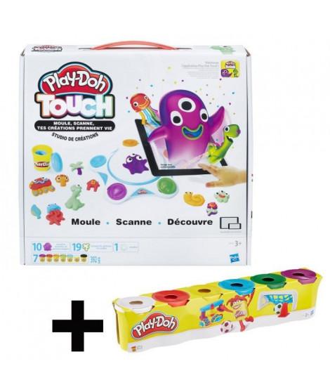 PLAY-DOH DIGITAL - Le Studio de Création + Super Pack Coloré 20 Pots
