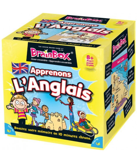 BRAINBOX  Apprenons Anglais - Jeu d'apprentissage