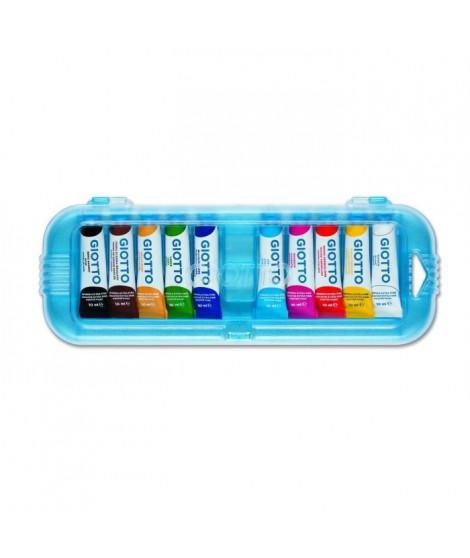 GIOTTO Gouache extra-fine - Boîte accrochable de 10 tubes - 10 ml