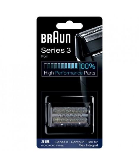 Braun 31B Grille de rechange pour rasoir Flex XP, rasoir électrique Flex Integral