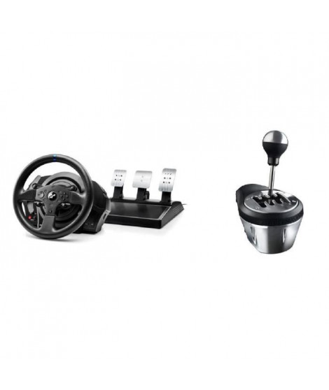 Thrustmaster Volant T300RS GT Edition - PS3 / PS4 / PC + Thrustmaster Levier de vitesse TH8A  SHIFTER ADD-ON - PC / PS4 / Xbo…