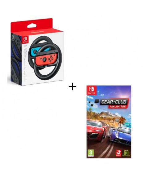 Pack 1 jeu Switch + volant : Club Gear