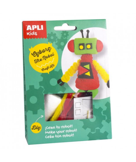 APLI Cyborg le robot Boite kit créatif