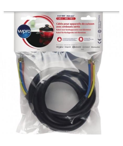 WPRO CAB360/1 Câble Electrique 1.45m ( 5750 watts)