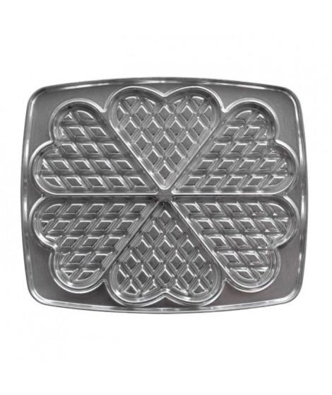 LAGRANGE Accessoires 030521 Jeu de plaques gaufrettes en coeur Super 2