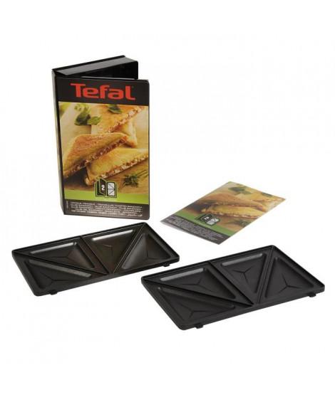 TEFAL Accessoires XA800212 Lot de 2 plaques croque triangle Snack Collection